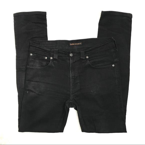cbea460c07acf4 Nudie Jeans Jeans | Black Ring Tape Ted | Poshmark